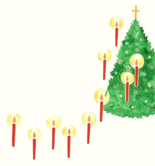 クリスマスのイラスト ゆすらうめ